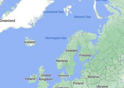 Denmark to Svalbard